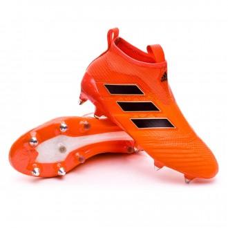 Bota  adidas Ace 17+ Purecontrol SG Solar orange-Core black-Solar red