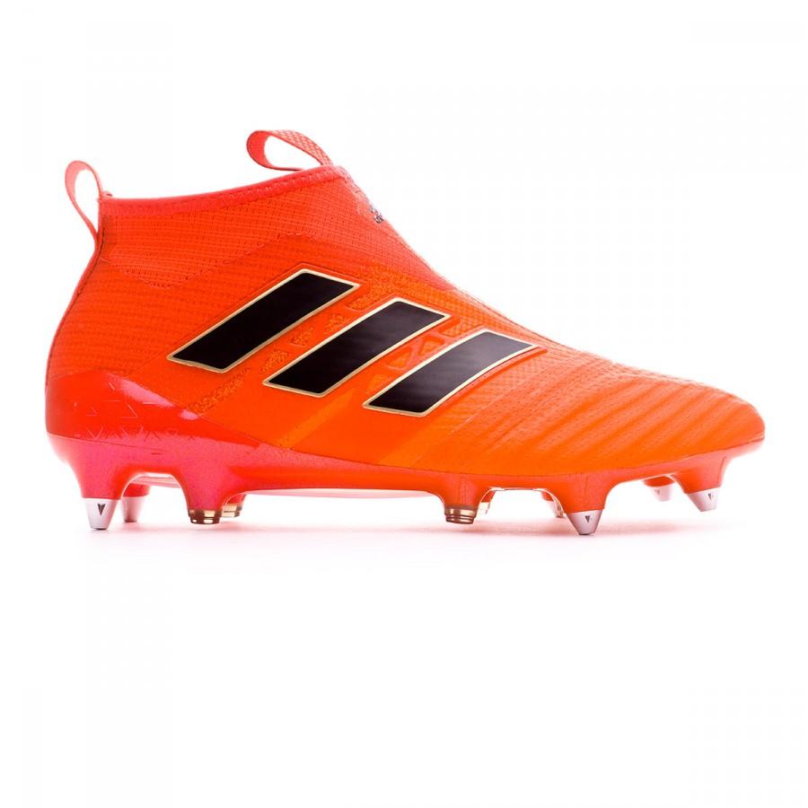 Boot adidas Ace 17+ Purecontrol SG Solar orange-Core black-Solar red ... c83e92e7919f