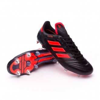 Chaussure  adidas Copa 17.1 SG Core black-Solar red