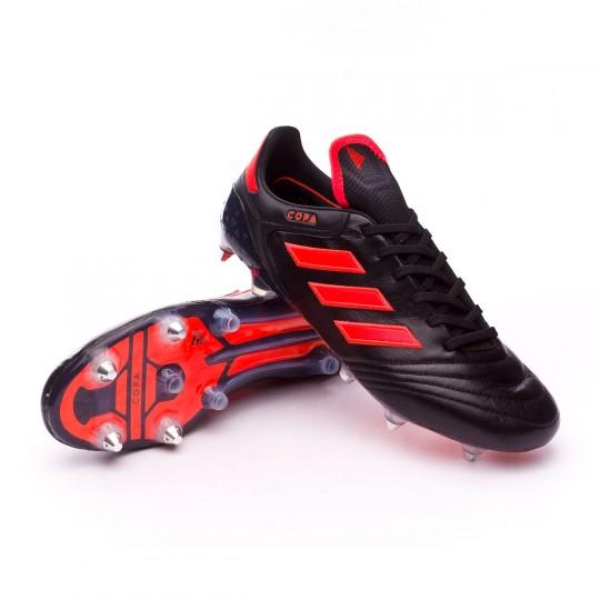Scarpa  adidas Copa 17.1 SG Core black-Solar red