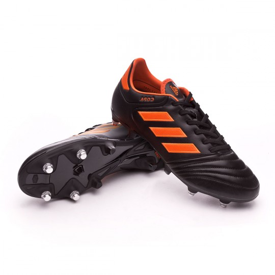 Scarpa  adidas Copa 17.2 SG Core black-Solar red