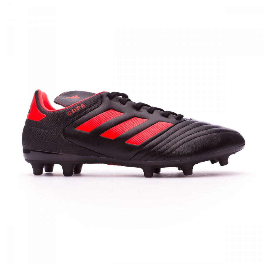 Boot adidas Copa 17.3 FG Core black-Solar red - Football store Fútbol  Emotion 79bab50433