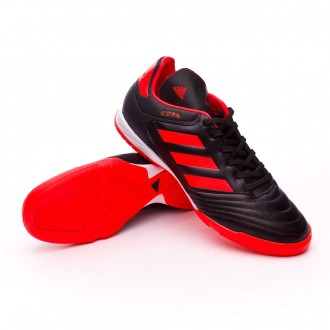 Sapatilha de Futsal  adidas Copa 17.3 IN Core black-Solar red