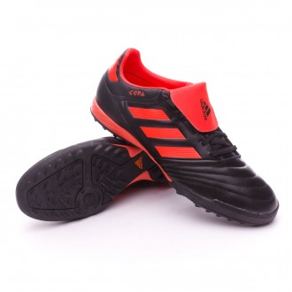 Zapatilla  adidas Copa 17.3 Turf Core black-Solar red