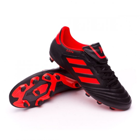 Bota  adidas Copa 17.4 FxG Core black-Solar red