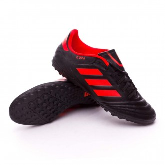 Zapatilla  adidas Copa 17.4 Turf Core black-Solar red