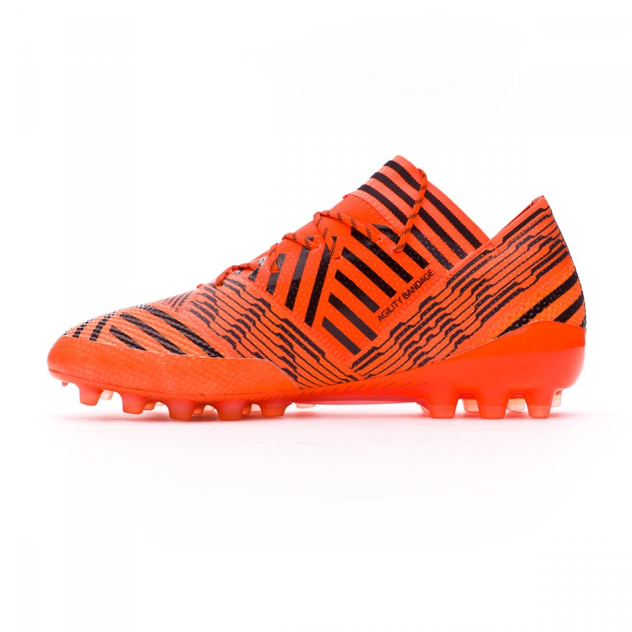 19d7d42998f5 Football Boots adidas Nemeziz 17.1 AG Solar orange-Core black-Solar red -  Football store Fútbol Emotion