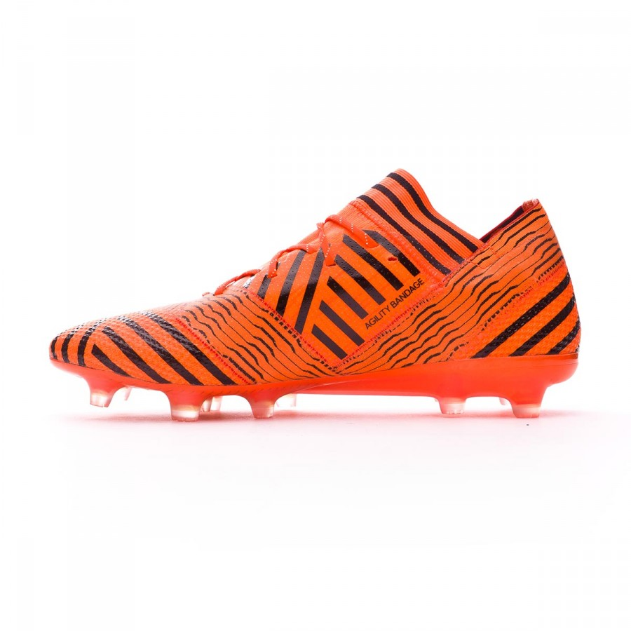 a0a907d5e0acd7 Boot adidas Nemeziz 17.1 FG Solar orange-Core black-Solar red - Football  store Fútbol Emotion