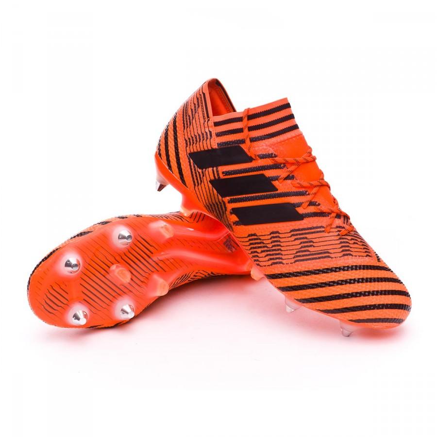 bc5304193 Football Boots adidas Nemeziz 17.1 SG Solar orange-Core black-Solar ...