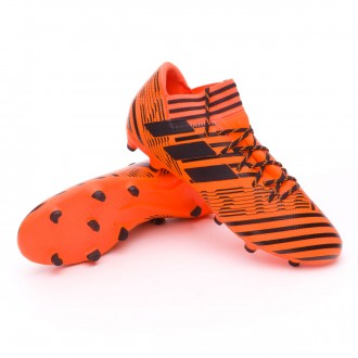 Bota  adidas Nemeziz 17.3 FG Solar orange-Core black