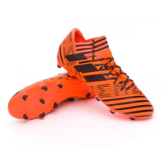 Chaussure  adidas Nemeziz 17.3 FG Solar orange-Core black