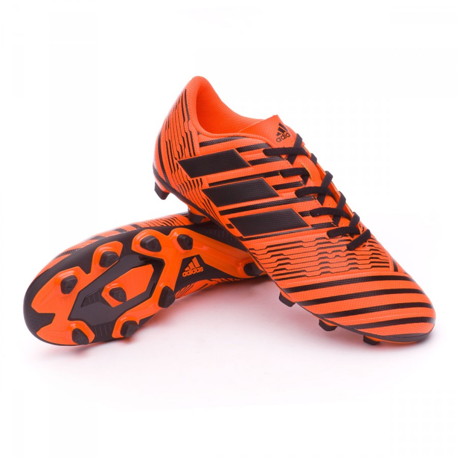 ca9b4322f adidas Nemeziz 17.4 FxG Football Boots. Solar orange-Core black-Solar ...