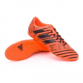 Sapatilha de Futsal  adidas Nemeziz 17.4 IN Solar orange-Core black-Solar orange