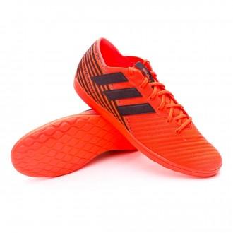 Sapatilha de Futsal  adidas Nemeziz 17.4 IN Sala Solar orange-Core black