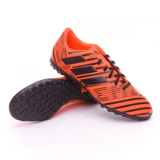 Boot  adidas Nemeziz 17.4 Turf Solar orange-Core black-Solar orange