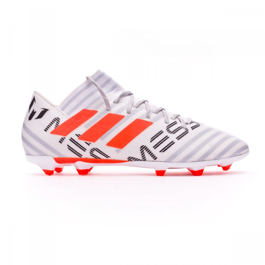new style d00e8 f671c Boot adidas Nemeziz Messi 17.3 FG White-Solar orange-Clear grey - Football  store Fútbol Emotion