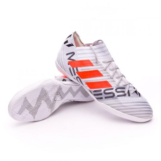 Boot  adidas Nemeziz Messi 17.3 IN White-Solar orange-Core black