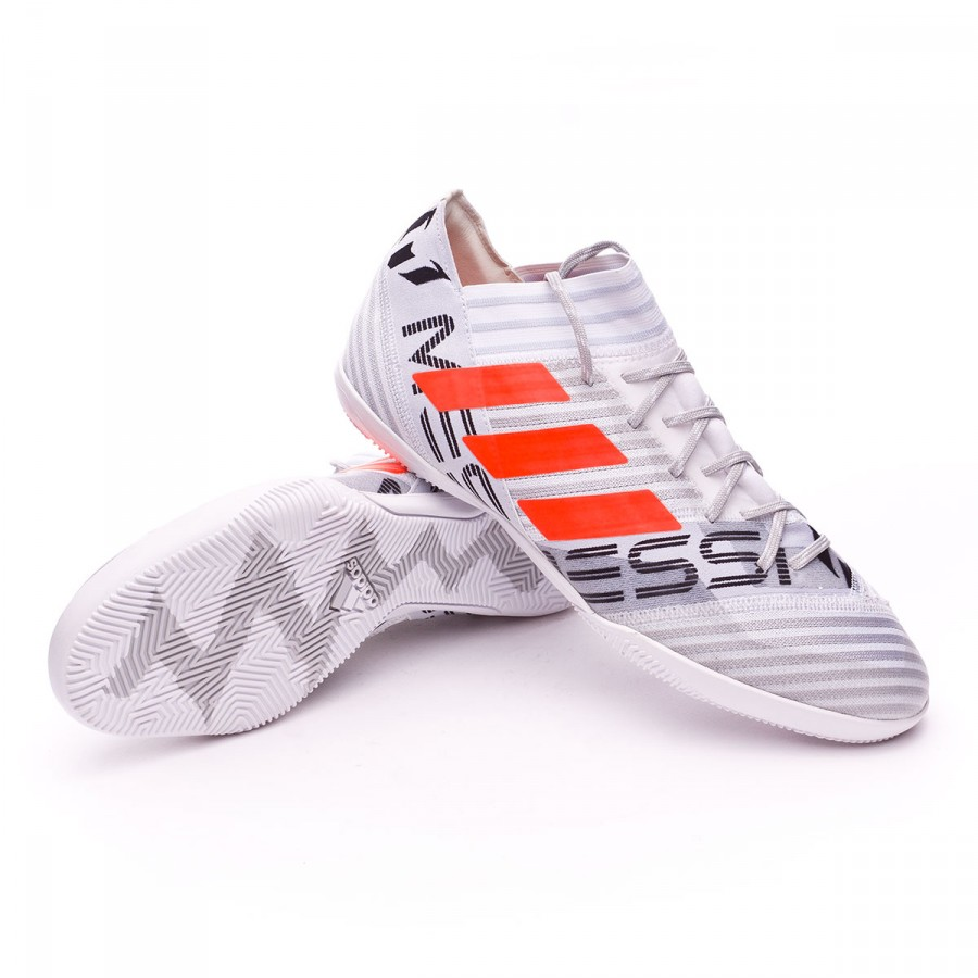 De Orange 17 In White Adidas Futsal Nemeziz 3 Solar Chaussure Messi SULVGqzMp