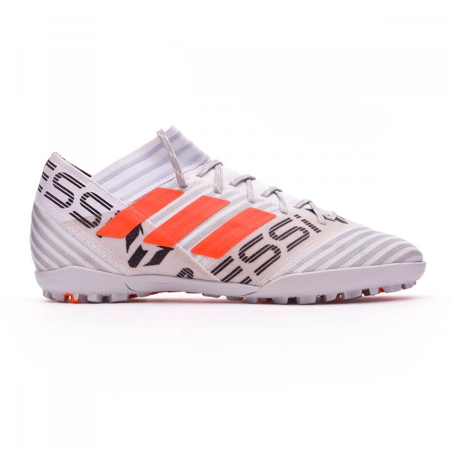5319cf561821 Football Boot adidas Nemeziz Messi 17.3 Turf White-Solar orange-Core black  - Football store Fútbol Emotion
