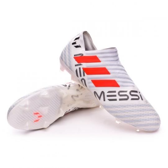 Chaussure  adidas Nemeziz Messi 17+ 360 Agility FG White-Solar orange-Clear grey