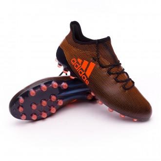 Bota  adidas X 17.1 AG Core black-Solar red-Solar orange