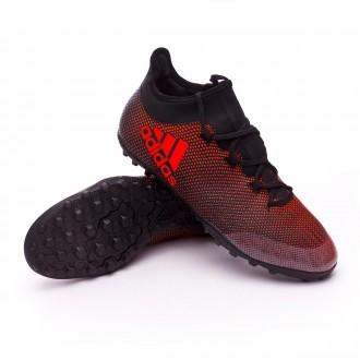 Zapatilla  adidas X Tango 17.3 Turf Core black-Solar red-Solar orange