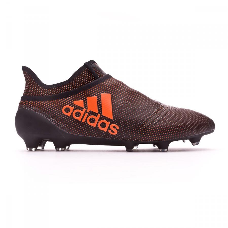 1da140fba74 Football Boots adidas X 17+ Purespeed FG Core black-Solar red-Solar orange  - Football store Fútbol Emotion