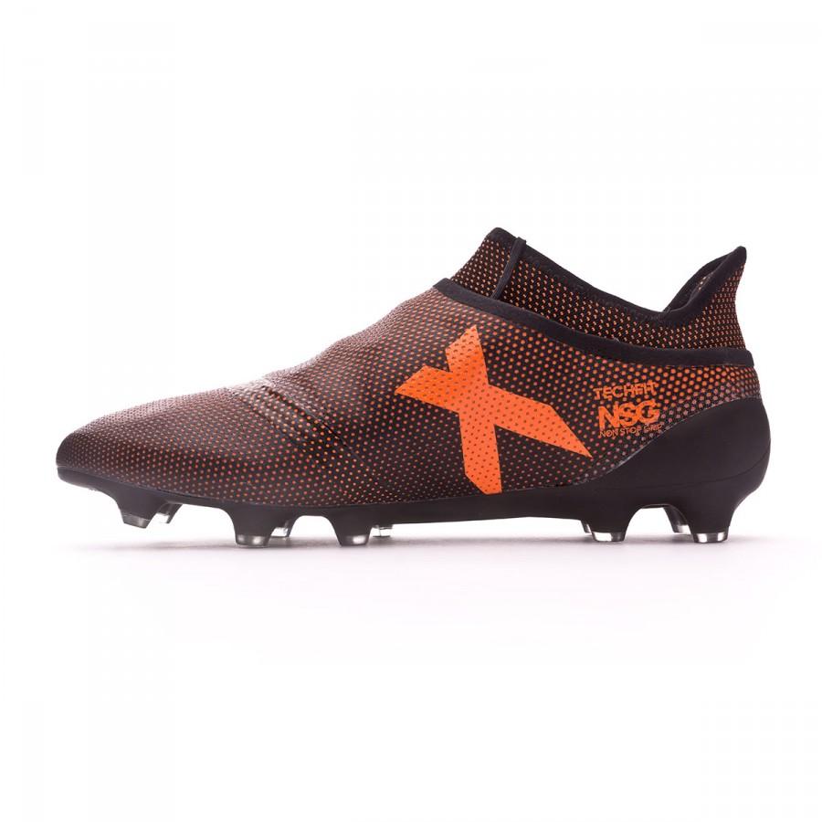 Chuteira adidas X 17+ Purespeed FG Core black-Solar red-Solar orange - Loja  de futebol Fútbol Emotion 8a0e14e084c0a