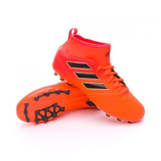 Bota  adidas Ace 17.3 AG Niño Solar orange-Core black-Solar red