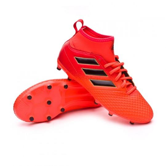 Bota  adidas Ace 17.3 FG Niño Solar orange-Core black-Solar red