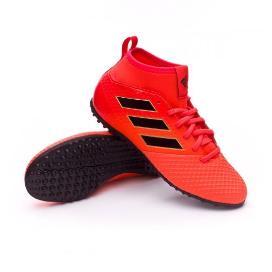 Zapatilla  adidas Ace Tango 17.3 Turf Niño Solar red-Core black-Solar orange