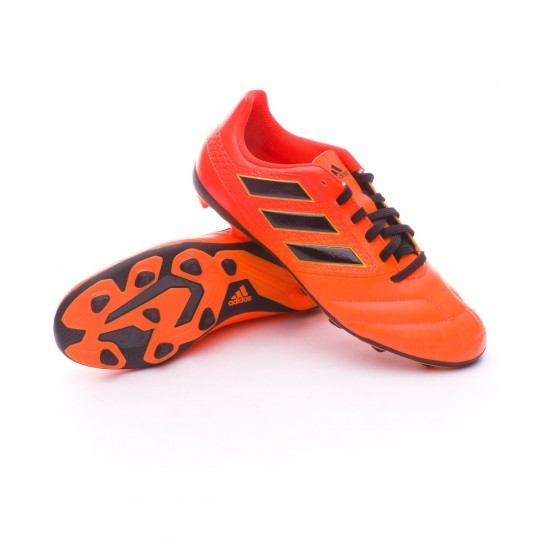 Bota  adidas Ace 17.4 FxG Niño Solar orange-Core black-Solar red