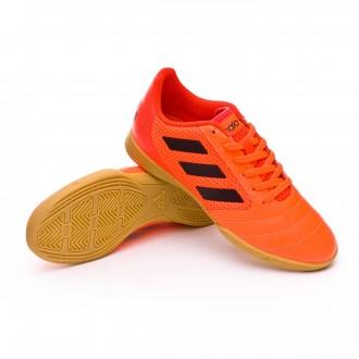 Sapatilha de Futsal  adidas Ace 17.4 Sala Crianças Solar orange-Core black-Solar red
