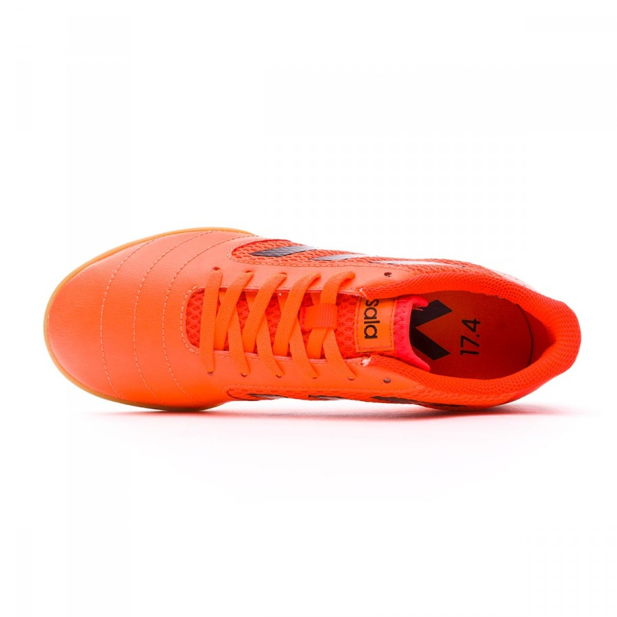 a59a27cf41a Futsal Boot adidas Kids Ace 17.4 Sala Solar orange-Core black-Solar red -  Tienda de fútbol Fútbol Emotion