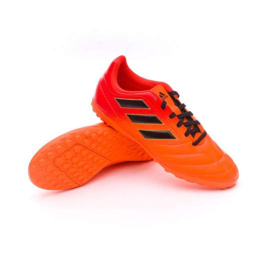 Zapatilla  adidas Ace 17.4 Turf Niño Solar orange-Core black-Solar red