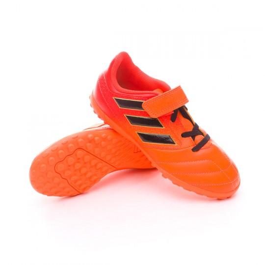 Zapatilla  adidas Ace 17.4 Turf HL Niño Solar orange-Core black-Solar red