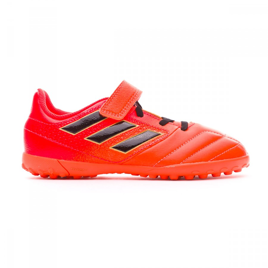 71ed2adbba5b Football Boot adidas Kids Ace 17.4 Turf HL Solar orange-Core black-Solar red  - Football store Fútbol Emotion