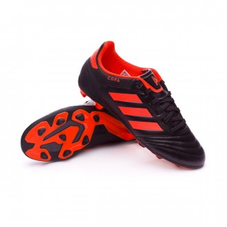 Bota  adidas Copa 17.4 FxG Niño Core black-Solar red