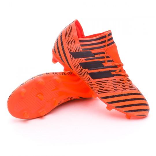 Chaussure  adidas Jr Nemeziz 17.1 FG Solar orange-Core black-Solar red