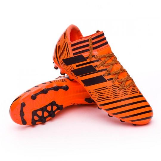Bota  adidas Nemeziz 17.3 AG Niño Solar orange-Core black