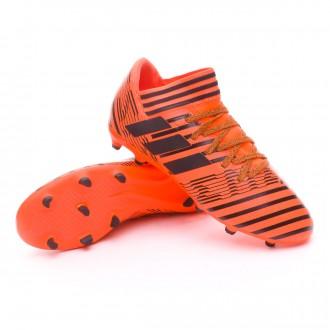 Bota  adidas Nemeziz 17.3 FG Niño Solar orange-Core black