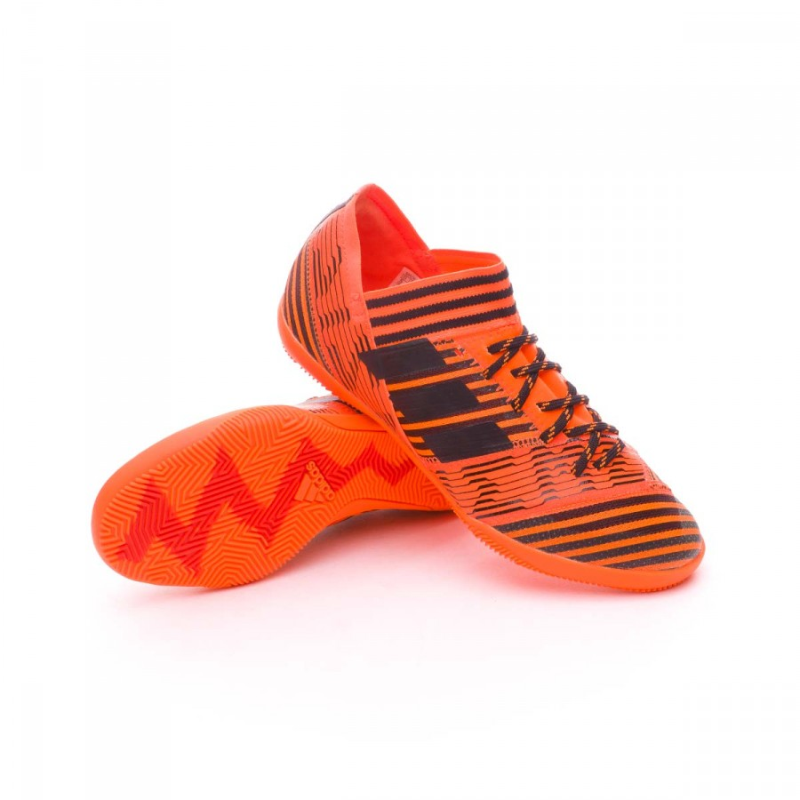 7dddf0b1317d2 Futsal Boot adidas Kids Nemeziz Tango 17.3 IN Solar orange-Core ...