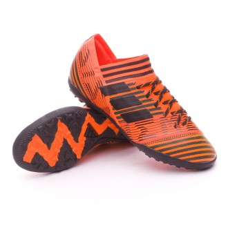 Zapatilla  adidas Nemeziz Tango 17.3 Turf Niño Solar orange-Core black-Solar orange