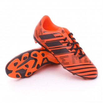 Bota  adidas Nemeziz 17.4 FxG Niño Solar orange-Core black-Solar orange