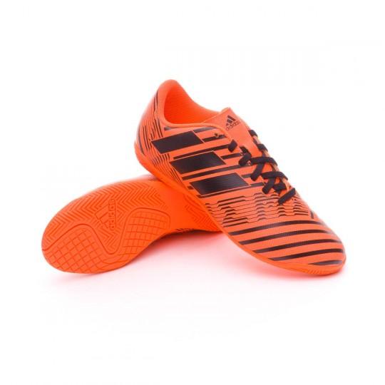 Scarpa  adidas Jr Nemeziz 17.4 IN Solar orange-Core black-Solar orange