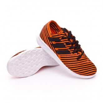 Zapatilla  adidas Nemeziz 17.4 TR Niño Solar orange-Core black