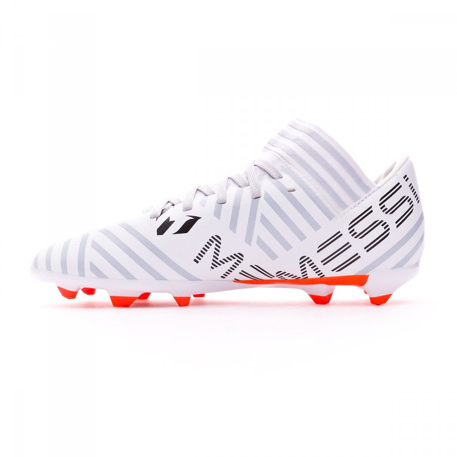 71b6527b14f Chuteira adidas Nemeziz Messi 17.3 FG Crianças White-Solar orange-Clear  grey - Loja de futebol Fútbol Emotion