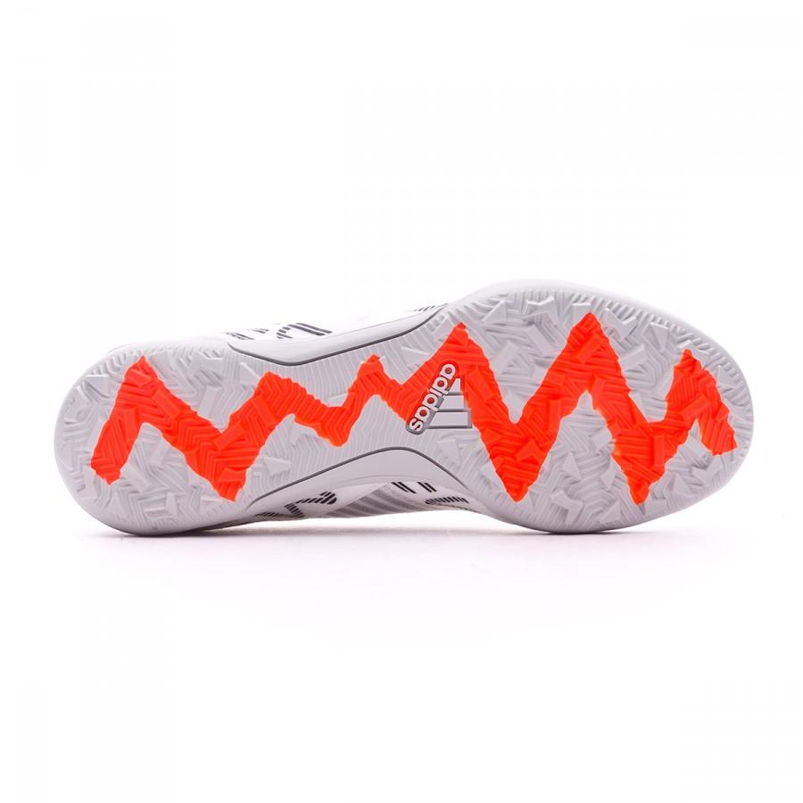 a0713b79a0e0 Football Boot adidas Jr Nemeziz Messi 17.3 Turf White-Solar orange-Core  black - Football store Fútbol Emotion