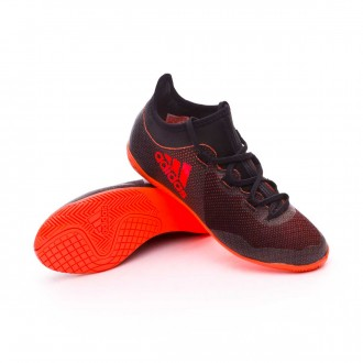 Zapatilla  adidas X Tango 17.3 IN Niño Core black-Solar red-Solar orange