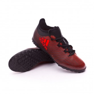 Zapatilla  adidas X Tango 17.3 Turf Niño Core black-Solar red-Solar orange